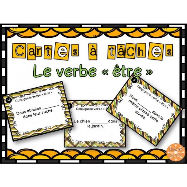 Le verbe tre cartes t ches for Portent verbe