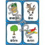 "Le son ""a"" - 40 cartes de vocabulaire"