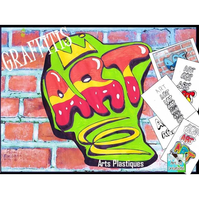 graffitis simples arts plastiques