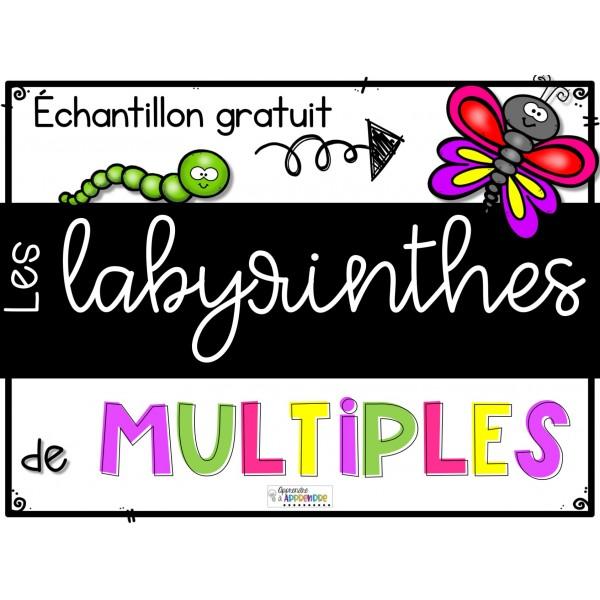 Les labyrinthes de multiples chantillon gratuit for Les multiples de 6