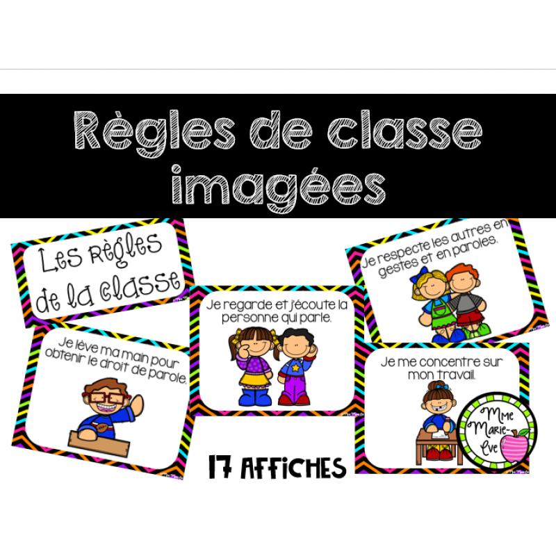 R gles de la classe imag es rentr e scolaire - Decoration des classes pour la rentree scolaire ...