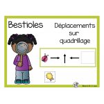Déplacements sur quadrillage (bestioles)